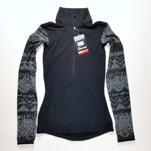 Nike Pro Hyperwarm Nordic 1/2 Zip Top XS A5-18